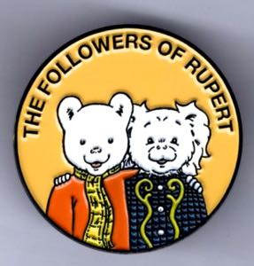 Followers Rupert and Pong Ping Badge