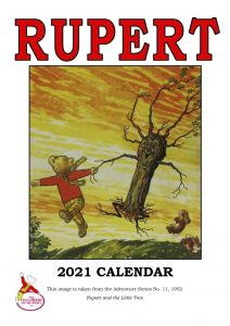 2021 Calendar front page