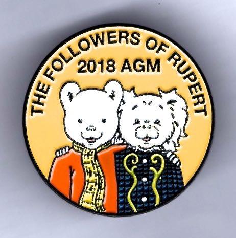 2018 Followers badge