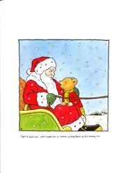 Prints Santa in Sleigh